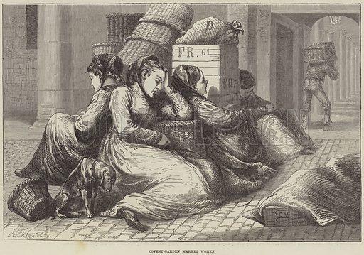 Covent-Garden Market Women