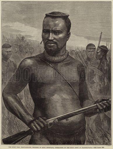 The Zulu War, Dabulamanzi, Brother of King Cetewayo, Commander of the Zulu Army at Isandhlwana