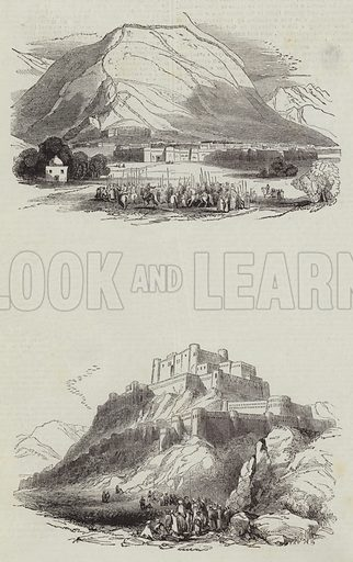 Sketches of Afghanistan. Illustration for The Illustrated London News, 14 May 1842.
