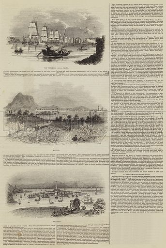 Sketches of China. Illustration for The Illustrated London News, 12 November 1842.