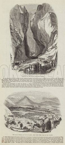 Sketches of Afghanistan. Illustration for The Illustrated London News, 3 December 1842.