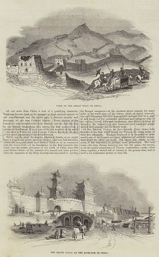 Sketches of China. Illustration for The Illustrated London News, 10 December 1842.