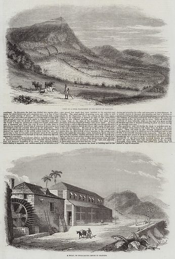 Sketches of Granada. Illustration for The Illustrated London News, 28 March 1857.