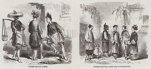 Sketches in China. Illustration for The Illustrated London News, 11 April 1857.