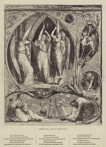 Christmas Bells. Illustration for The Illustrated London News, 21 December 1872.