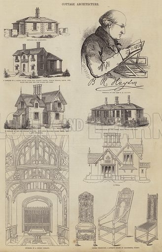 Cottage Architecture. Illustration for The Pictorial Times, 27 June 1846.