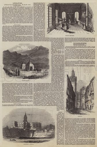 A Pictorial Tour in Mediterranean, by John H Allen. Illustration for The Pictorial Times, 8 August 1846.