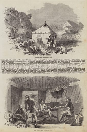 Home Everywhere! Tents of Benjamin Edgington. Illustration for The Pictorial Times, 12 September 1846.