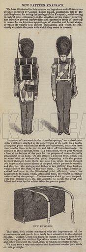 New Pattern Knapsack. Illustration for The Pictorial Times, 26 September 1846.
