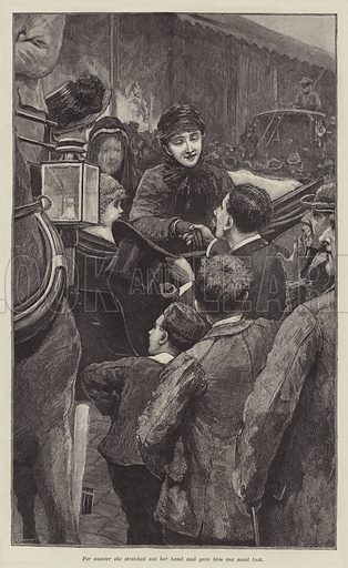 Mr Meeson's Will, by H Rider Haggard. Illustration for The Illustrated London News, Summer Number 1888.