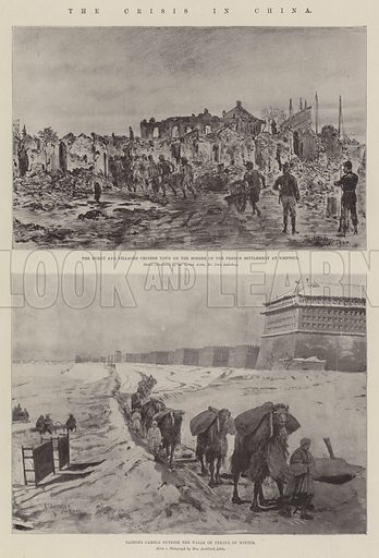 The Crisis in China. Illustration for The Illustrated London News, 27 October 1900.