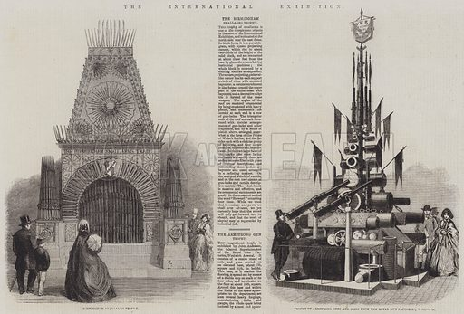 The International Exhibition. Illustration for The Illustrated London News, 14 June 1862.