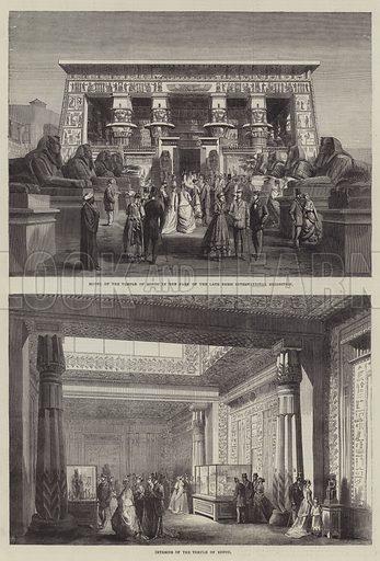Paris International Exhibition. Illustration for The Illustrated London News, 16 November 1867.