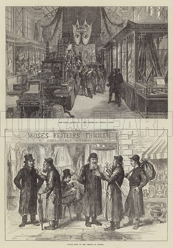 The Vienna Exhibition. Illustration for The Illustrated London News, 20 September 1873.