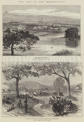 The War in the Herzegovina. Illustration for The Illustrated London News, 6 November 1875.