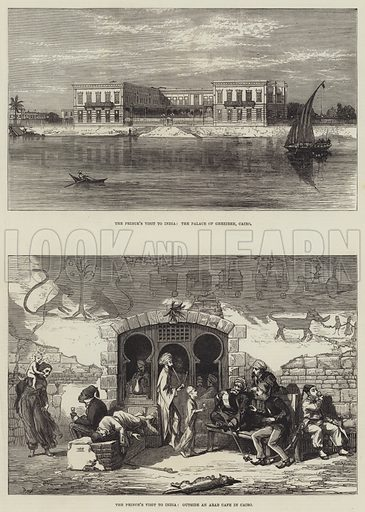 The Prince's Visit to India. Illustration for The Illustrated London News, 20 November 1875.