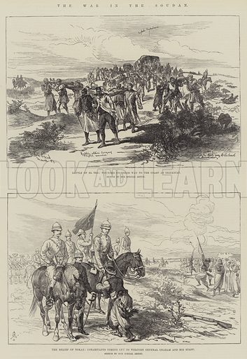 The War in the Soudan. Illustration for The Illustrated London News, 29 March 1884.