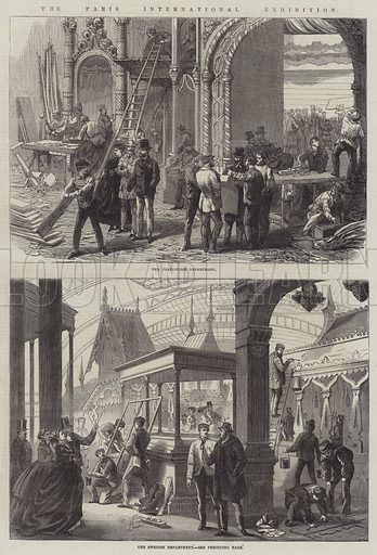 The Paris International Exhibition. Illustration for The Illustrated London News, 23 March 1867.