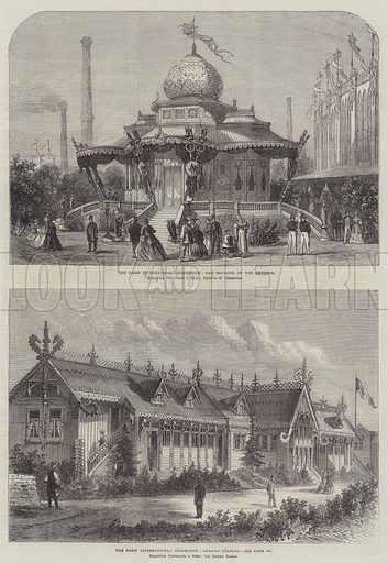 The Paris International Exhibition. Illustration for The Illustrated London News, 27 April 1867.