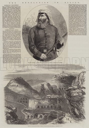 The Revolution in Sicily. Illustration for The Illustrated London News, 11 August 1860.