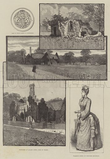 Royal Wedding of Prince Henry of Battenberg and Princess Beatrice. Illustration for The Illustrated London News, 27 July 1885.