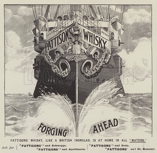 Advertisement, Pattisons' Whisky