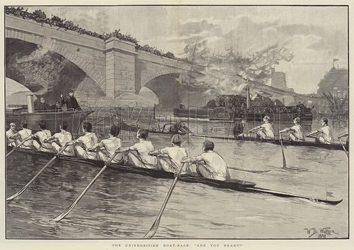 boat race, picture, image, illustration