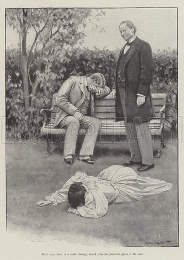 The Other House, by Henry James. Illustration for The Illustrated London News, 12 September 1896.