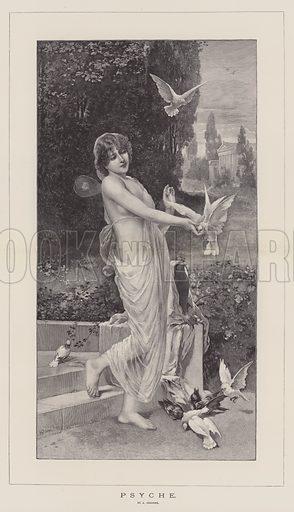 Psyche. Illustration for The Illustrated London News, 30 September 1893.