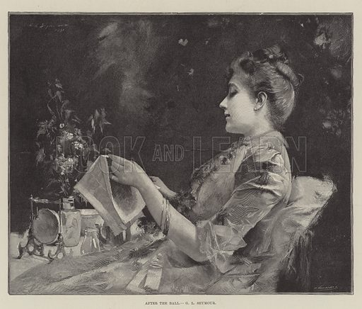 After the Ball. Illustration for The Illustrated London News, 8 June 1895.