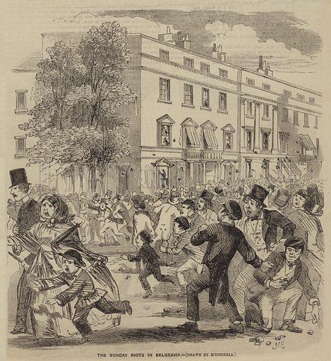 The Sunday Riots in Belgravia