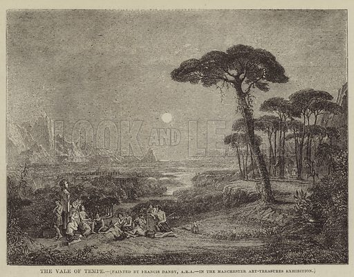 The Vale of Tempe. Illustration for The Illustrated Times, 10 October 1857.