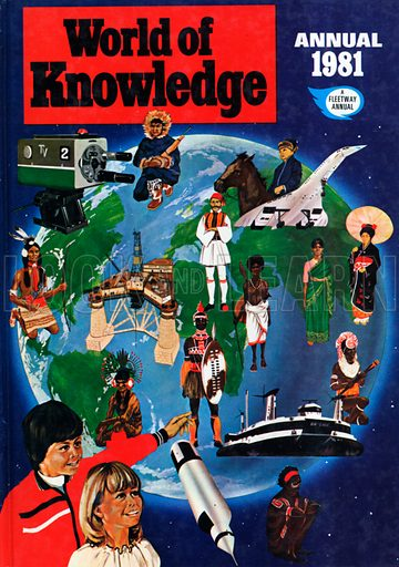 World of Knowledge Annual 1981.