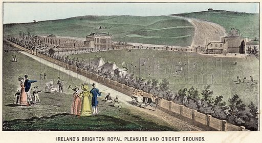 Ireland's Brighton Royal Pleasure and Cricket Grounds.
