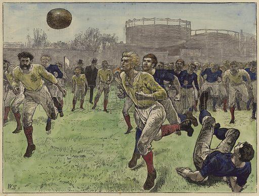 The international football match