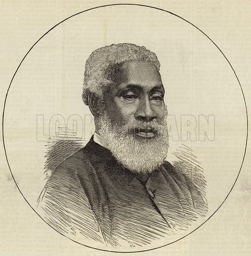 The Rev Josiah Henson ('Uncle Tom'). Published in the Illustrated London News, 17 March 1877.