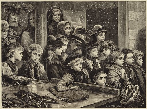 The poor of London
