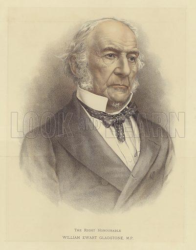 The Right Honourable William Ewart Gladstone, MP.