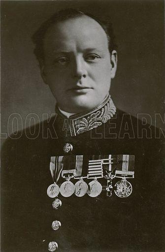 Rt Hon Winston Churchill.