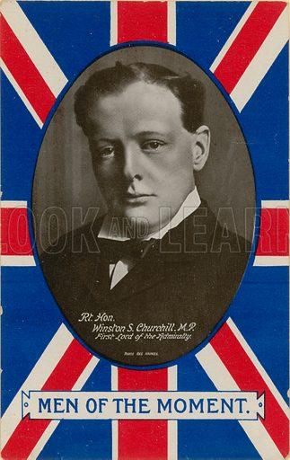 Winston S Churchill.