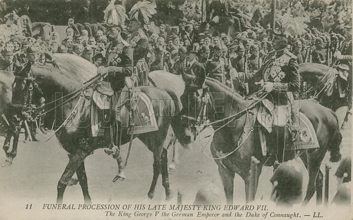 Funeral procession of Edward VII.