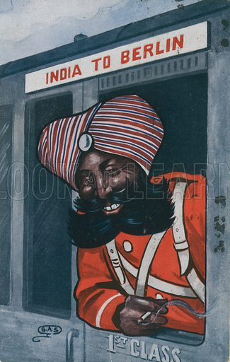 India to Berlin.