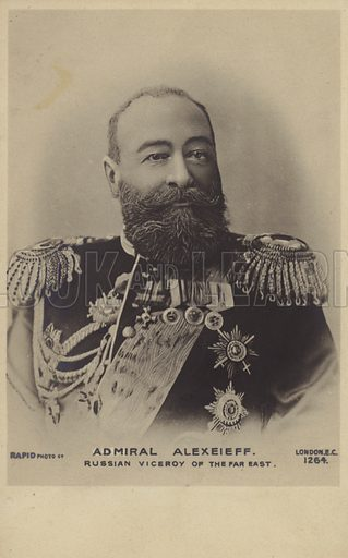 Admiral Alexeieff, Russian Viceroy of the Far East.