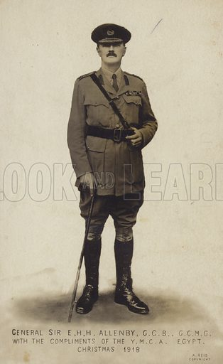 General Sir E H H Allenby.