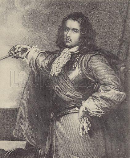 Admiral Robert Blake.