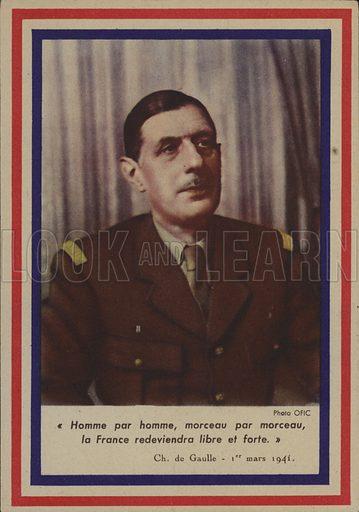 General de Gaulle.