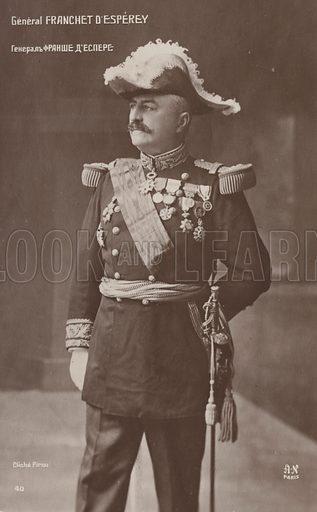 General d'Esperey.