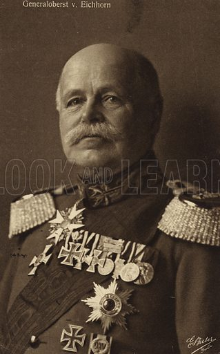 General von Eichorn.
