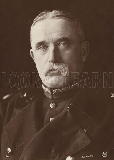 Field Marshal Sir John French.