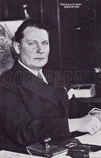 Reichsminister Goering.
